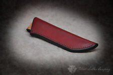 Adventure Sworn 'The Federalist' Custom Leather Bushcraft Sheath