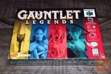 Gauntlet Legends (Nintendo 64, N64 1999) H-SEAM SEALED! - RARE! - EX!