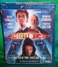 NEW BBC VIDEO DOCTOR WHO THE END OF TIME PARTS ONE & TWO 2 DISC TV BLU RAY 2009