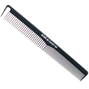 "Mijjang 708 18cm 7"" Cutting Comb Carbon Ceramic Anti-static Non-Slip Salon Hair"