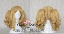 Halloween Wig Cosplay Black Butler Elizabeth blonde party style fashion Hair