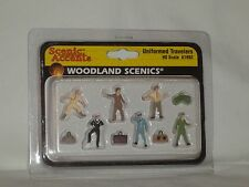 WOODLAND SCENICS SCENIC ACCENTS UNIFORMED TRAVELERS #A1892 HO SCALE