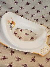 WINNIE THE POOH TOILET TRAINING TOILET SEAT ** EXCELLENT CONDITION **