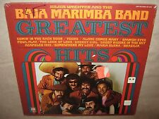 BAJA MARIMBA BAND Julius Wechter GREATEST HITS SEALED Gatefold LP 1970 SP 4248
