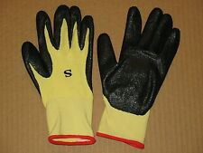 2 Pair Nitrile Coated Kevlar Gloves Size Small PosiGrip 713KSNF West Chester
