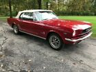 1966 Ford Mustang  1966 Ford Mustang Convertible 1 owner since new 289 V8 Auto Power steering / Top