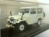 Toyota Land Cruiser BJ42 (1982) 1:43 Die-cast Scale Model NOREV White Hachette