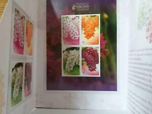 Thailand Stamp Orchid Rhynchostylis gigantea 2010 with Folder