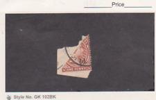 Falkland Island Scott # 19e Used Bisect on Piece Catalogue $325.00
