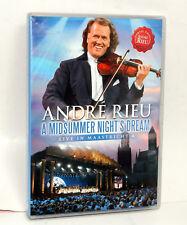 ANDRE RIEU - A Midsummer Night's Dream - Live In Maastricht 4 DVD PAL NEW stock