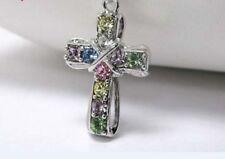 Markenlose Modeschmuck-Halsketten & -Anhänger mit Kreuz