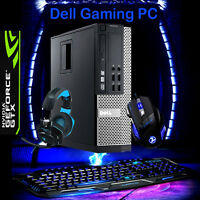 FAST GAMING PC DESKTOP Quad Core i5 1TB 8GB RAM COMPUTER WINDOWS 10,1GB NVIDIA