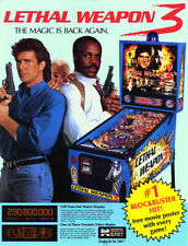 Data East Lethal weapon 3 pinball sound speech rom set
