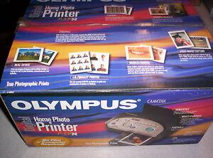 Olympus Camedia Digital Home Photo Printer P-330N, made in Japan