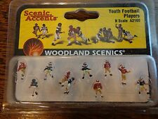 Woodland Scenics N #2169  -  Youth Football Players