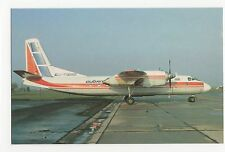 Cubana Antonov An-24RV at Praha Aviation Postcard, A637