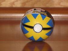 QUICK Blue Yellow Poke Ball Jakks B&W Soft Foam Pokemon Go PokeBall NEW