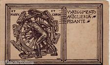 #V° REGGIMENTO ARTIGLIERIA PESANTE - dis. G.W.