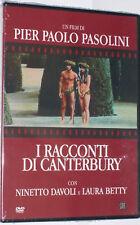 dvd I RACCONTI DI CANTERBURY Pier Paolo PASOLINI Ninetto DIAVOLI Laura BETTY