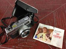**Vintage Canon Canonet QL 17 35mm Film Camera Lens Case Manual Book Strap GIII