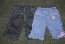 mothercare No Pattern 100% Cotton Girls' Trousers & Shorts (0-24 Months)