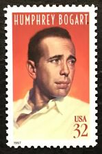 1997 Scott #3152 32¢ - HUMPHREY BOGART - HOLLYWOOD  - Single Stamp - Mint NH