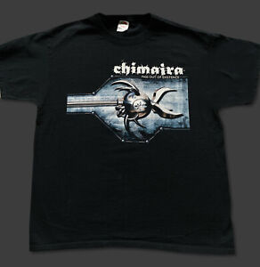 Chimaira Pass Out Of Existence T-shirt LARGE **RARE** Owned by Rob Arnold NEW!