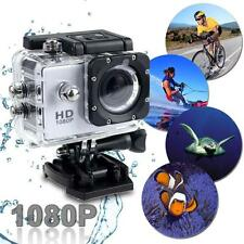 Caméra 1080P HD Mini 12MP Sport Étanch Video Action DV Camcorder Blanc AD