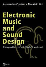 Electronic Music and Sound Design - Theory and Practice with Max/MSP --ExLibrary