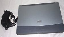 HP Omnibook 6000 Laptop Computer Silver FOR PARTS w/ Power AC Charger Adapter