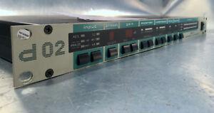 JÜNGER d02 Digital Dynamics Processor stereo Mastering