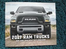 2017 DODGE RAM BROCHURE1500 2500 3500 FULL LINE NEW AND COOL