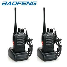 2 x Baofeng BF-888S Two Way Radio 400-470MHz Walkie Talkie Set with Flashlight