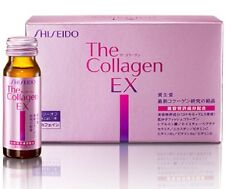japan ☀Shiseido☀ collagen EX Beauty Drink Supplement Quality of Japan 50ml x 10