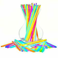 """8"""" Inch Party Light Glow Neon Sticks Long Lasting Necklaces and Bracelets 100 Pc"""