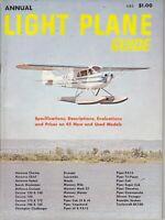 Vintage Annual Light Plane Guide Magazine 1963 Specs / Evaluation / Prices , ads