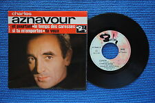CHARLES AZNAVOUR / EP BARCLAY 70604 / LABEL 3 / BIEM 1963 ( F )