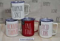 "Rae Dunn Mug Insulated Stainless Steel 12oz PUMPKIN SPICE ""YOU CHOOSE"" NEW '20"
