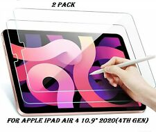 More details for 2 pack tempered glass screen protector for ipad air 4th generation 2020 10.9