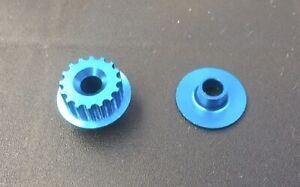 Tamiya 49073 TA03 Aluminum Pulley (Blue, 16T) F R F-S R-S
