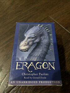 Eragon By Christopher Paolini Audiobook Cassette Unabridged 9780807219621