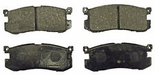 Rear Brake Pads 89-92 Ford Probe 88-92 Mazda 626 MX6