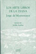 Los Siete Libros de la Diana (Textos B) Montemayor, Jorge de Hardcover