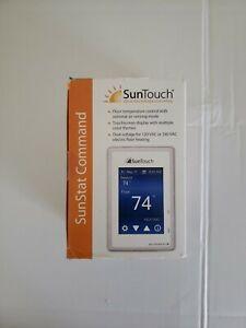 SunTouch SunStat Command Floor Control TouchScreen Thermostat 500850-SB 81019079