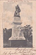 ARGENTINA - Buenos Aires - Monumento a Sarmiento - Parque 3 de Febrero 1903