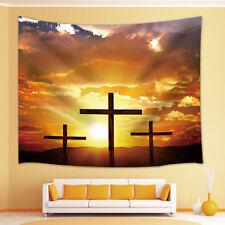 Cross Tapestry Wall Hanging for Living Room Bedroom Dorm Decor