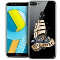 """Coque Gel Pour Huawei Honor 9 LITE (5.7"""") Souple Tatoo Lover Life Style"""