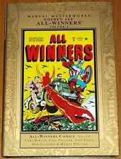 MARVEL MASTERWORKS ALL WINNERS GOLDEN AGE VOL 2 #5-8 HARDBACK GN 9780785124061