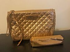 Rebecca Minkoff Rose Gold Cosmetic Bag