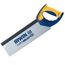 Irwin JACK PLUS 955 TENON HAND SAW 300mm Comfort Grip, Hardpoint Teeth USA Brand